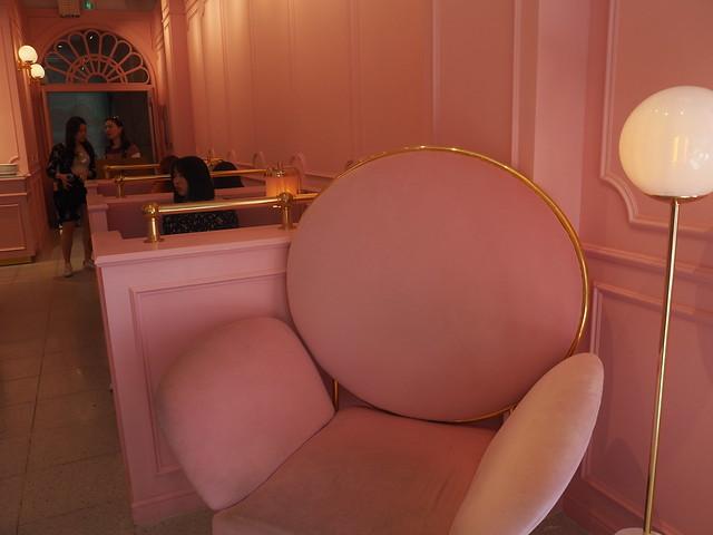 P6168311 STYLENANDA(スタイルナンダ) pink pool cafe(ピンクプールカフェ) 핑크풀카페 弘大 ソウルカフェ ひめごと