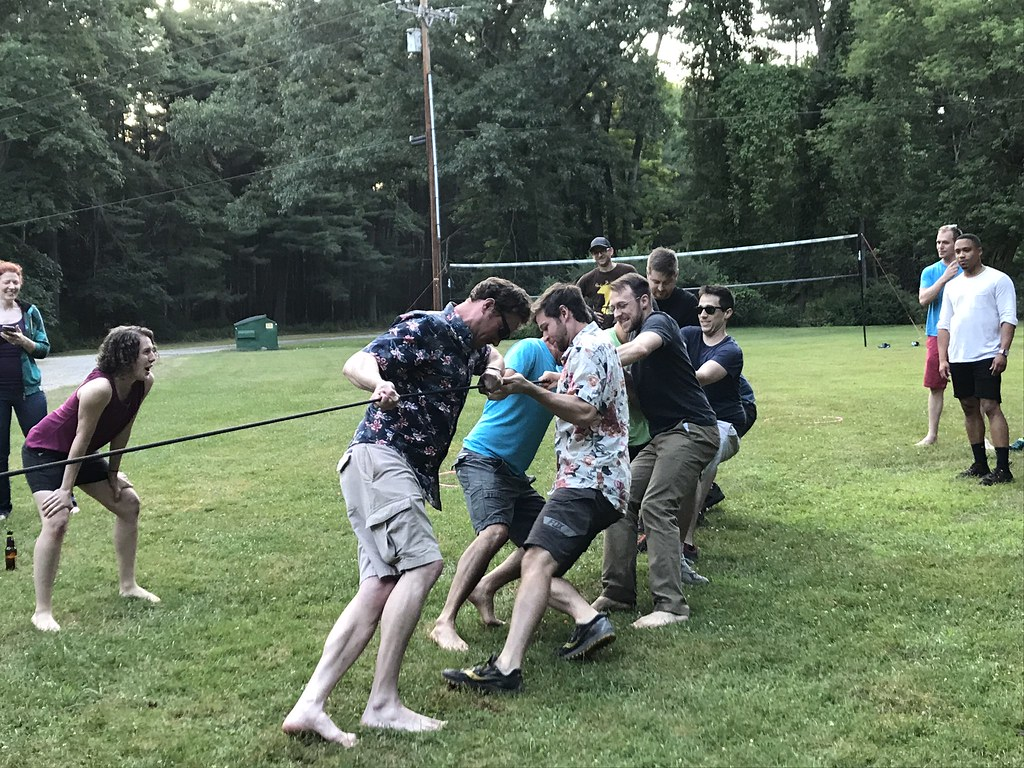 Tug of War--will the R2's take the R3's!?