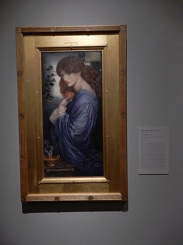 DSCN2717 - Proserpine, Dante Gabriel Rossetti, The Pre-Raphaelites & the Old Masters