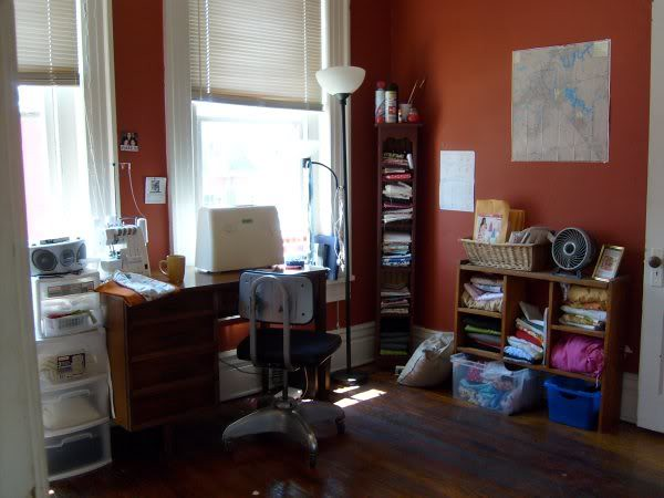 2007 sewing room - Broadway