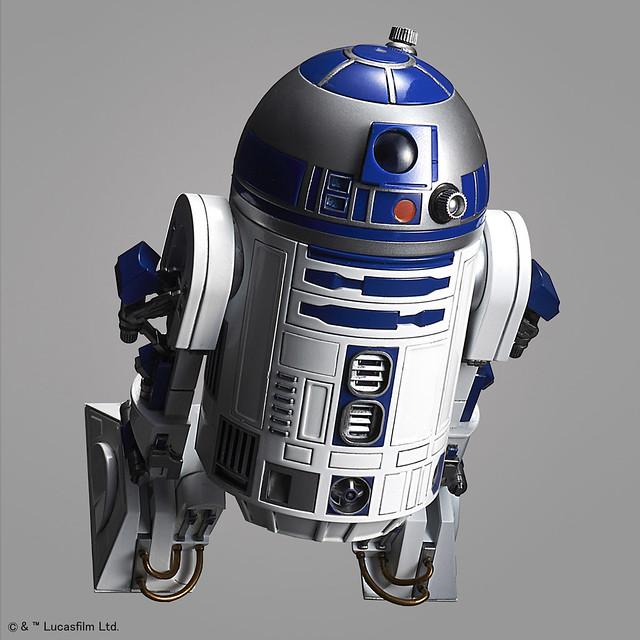 星際大戰組裝模型系列 – 1/12 比例《星際大戰》 R2-D2 ( 推進器版本 ) ! R2-D2( ロケットブースターVer.)