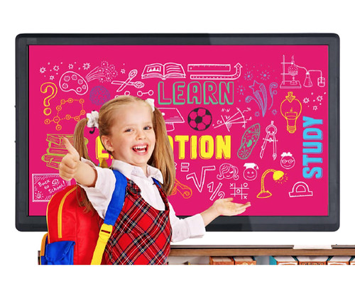 10 points interactive flat panel education