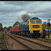 No D1705 Sparrowhawk 9th Sept 2018 Great Central Railway Diesel Gala
