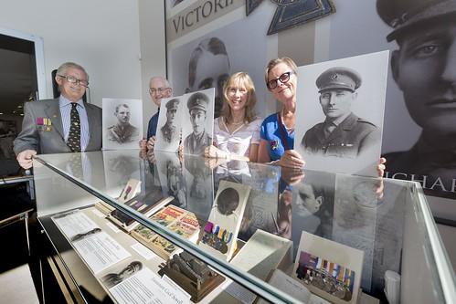 Tank Corps Victoria Cross exhibit families