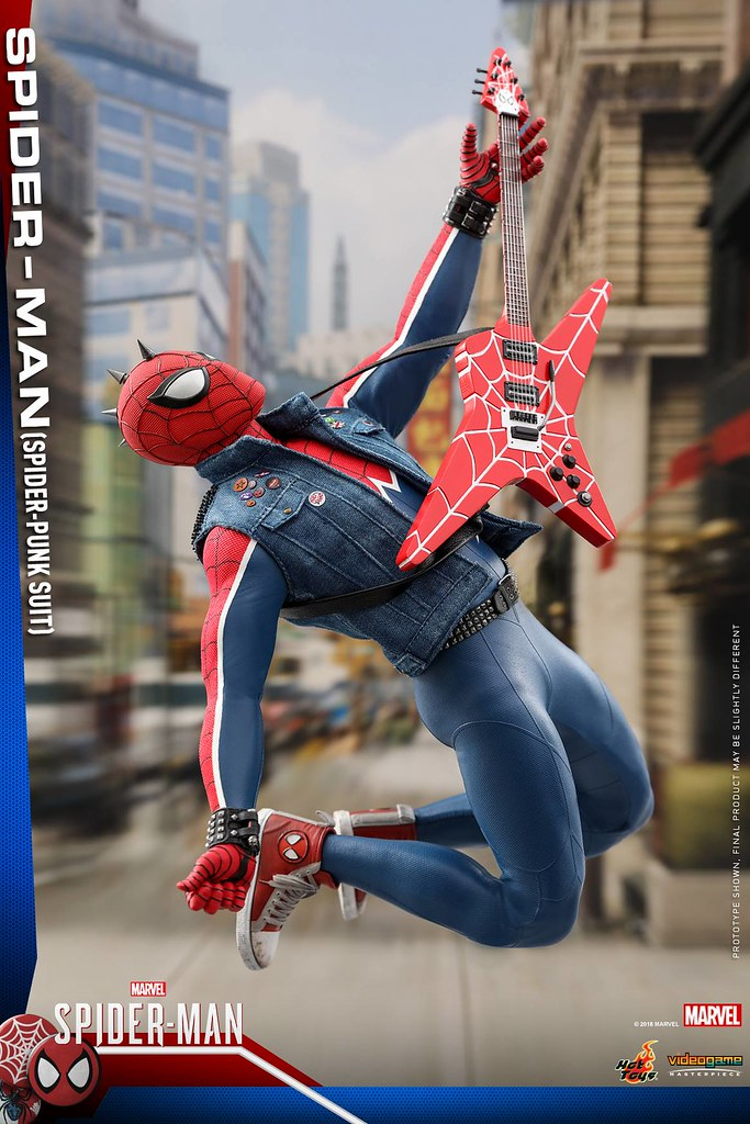 Hot Toys - VGM32 -《漫威蜘蛛人》蜘蛛人 (Spider-Punk Suit) Spider-Man (Spider-Punk Suit) 1/6 比例人偶作品