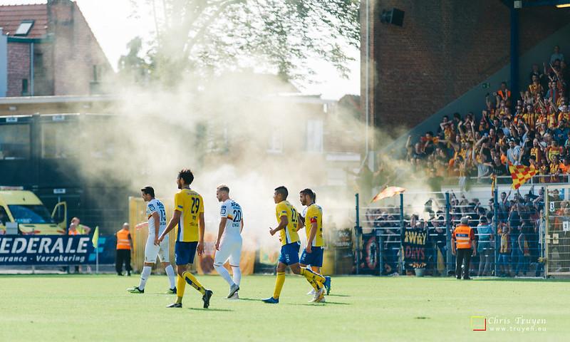 Union St.Gilloise - KV Mechelen (09/09/2018)