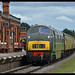 No D832 Onslaught 9th Sept 2018 Great Central Railway Diesel Gala