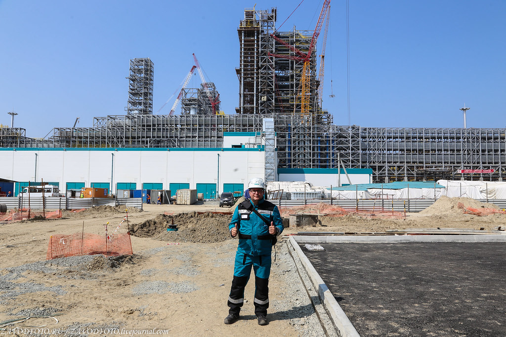 Самая большая нефтехимическая стройка России установки, полипропилена, более, комплекса, «ЗапСибНефтехим», производству, около, России, работы, пиролиза, полиэтилена, производства, низкого, Установка, давления, компания, тысяч, воздуха, данный, момент
