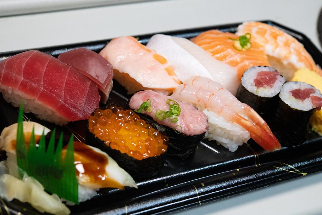 Sushi &Rhodochrosite