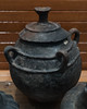 Impasto four-handled ovoid olla with lid, from S. Marzano sul Sarno by diffendale
