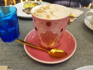 Gingerbread Latte at The Cardamom Pod Southport