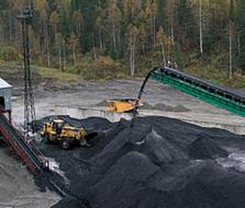 отвал угля