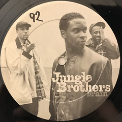 JUNGLE BROTHERS:BRAIN(LABEL SIDE-A)