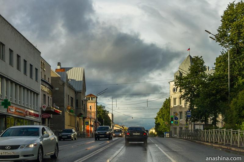 Знаменательный центр Сортавалы, Карелия