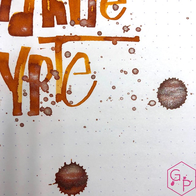 Jacques Herbin Cornaline d'Égypte Ink Review @Exaclair 19