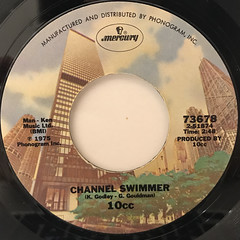10CC:I'M NOT IN LOVE(LABEL SIDE-B)