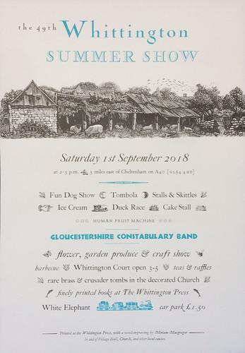 Whittington Summer Show