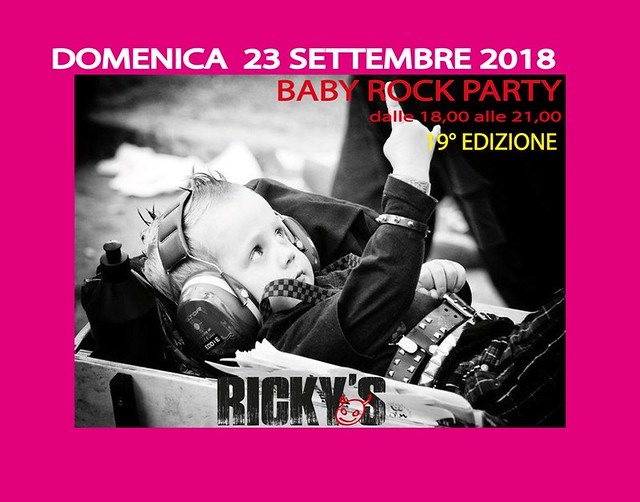 baby rock party SETTEMBRE  2018