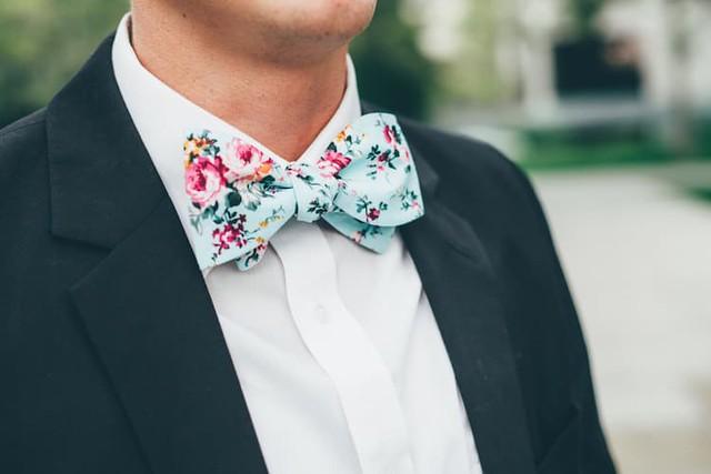 estampado floral para hombres