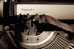 Resistance Typewriter