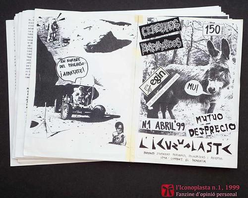 Original de L'Iconoplasta n.1, abril de 1999, de Ferran Cerdans Serra, Ordizia