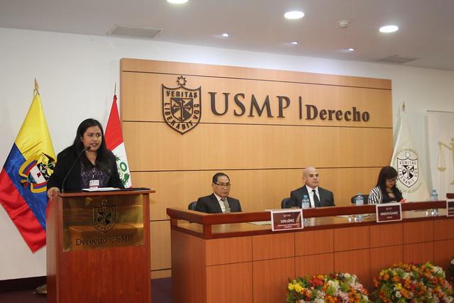 Facultad de Derecho de la USMP desarrolló la II Jornada de la Escuela Internacional de Derecho para alumnos de la Universidad Libre de Colombia