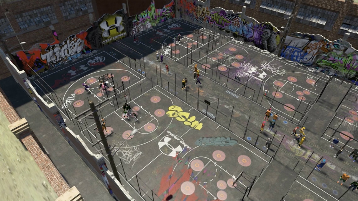 NBA 2K19 The Neighborhood Park Trailer, Slamball, Rec-Center, Yakar Top, Battle Royale!