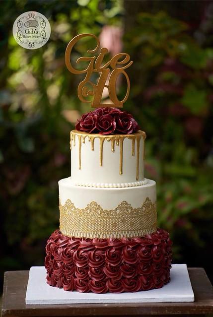 Cake by Gab's Baker Mom