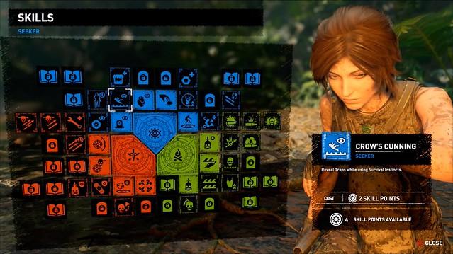 Tomb Raider - Skills Shadow