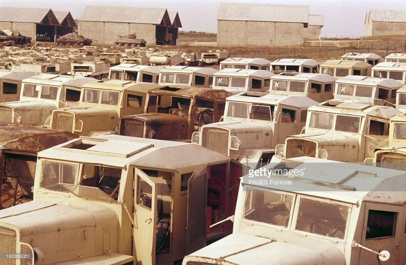 Artillery-tractors-captured-from-egypt-195703-gty-1