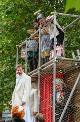 YMPST waggon play performance, St Sampson's Square, 16 September 2018 - 05