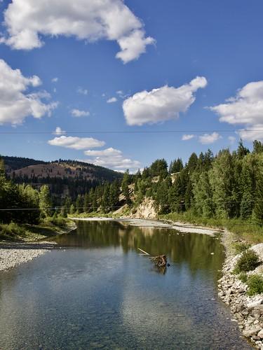 canada princeton bc river nature