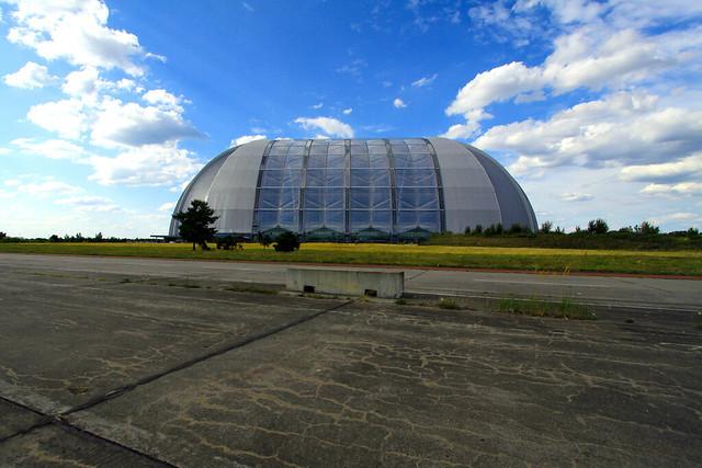 Tropical Islands in a former airship hangar