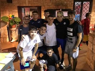 Sant'Oronzo League 2018 -  squadra vincitrice  torneo calcio
