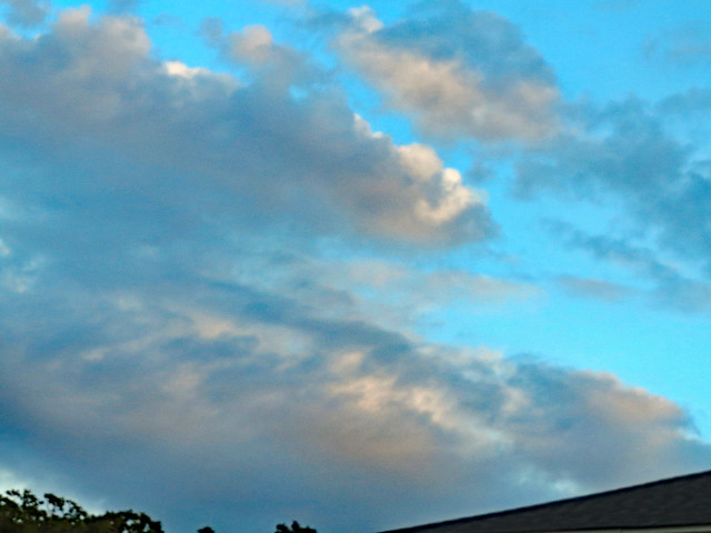Clouds In The Evening, Canon POWERSHOT ELPH 520 HS