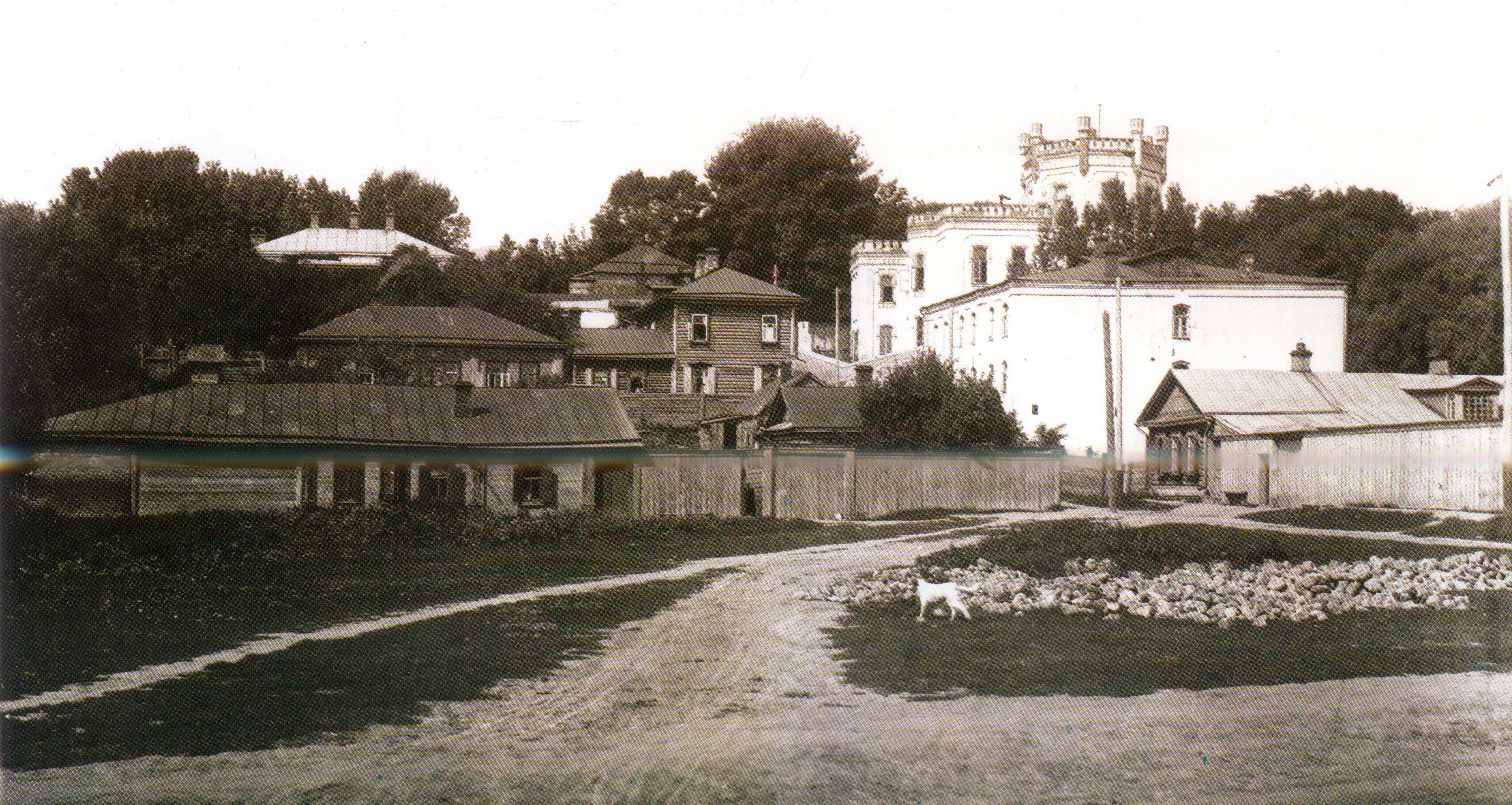 Вид на дом Ф.Ф. Похвалинского