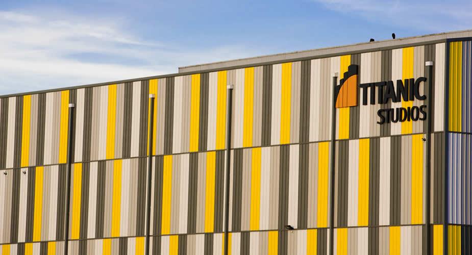 Vlakbij Titanic Hotel Belfast: Titanic Studios | Mooistestedentrips.nl