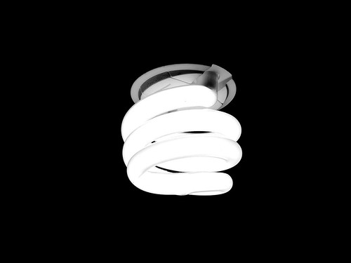 lighted bulb