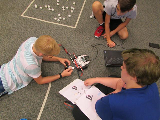 2018: Lego Mindstorms - August 25