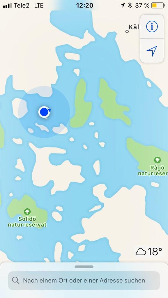 Schärenmeer bei Stockholm