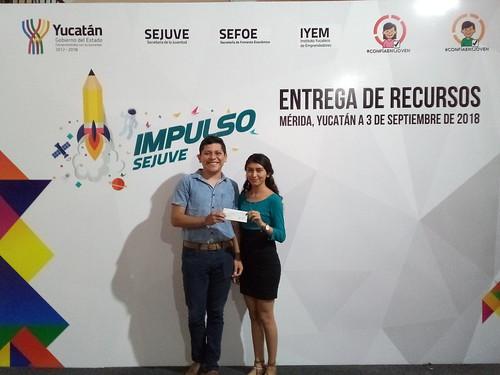 Entrega de recursos Impulso SEJUVE 2018