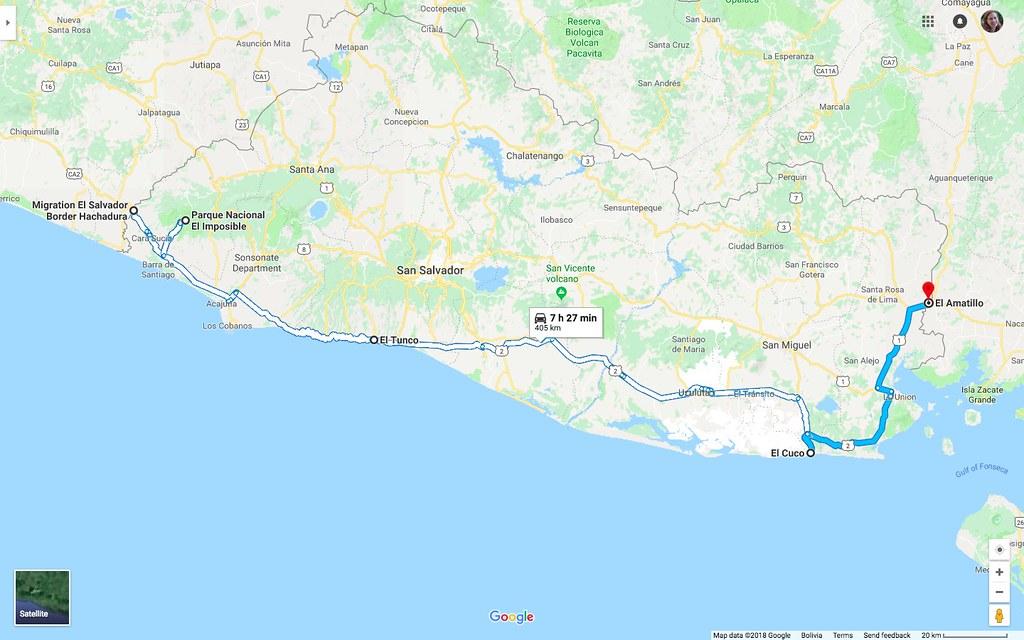 Maps_ElSalvador_ELCucoToHondurasBorder