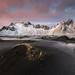 Winter at Vestrahorn by Justin Minns