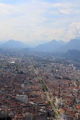 Depuis le haut de la Bastille, Grenoble