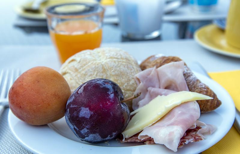 Albergo Milano breakfast