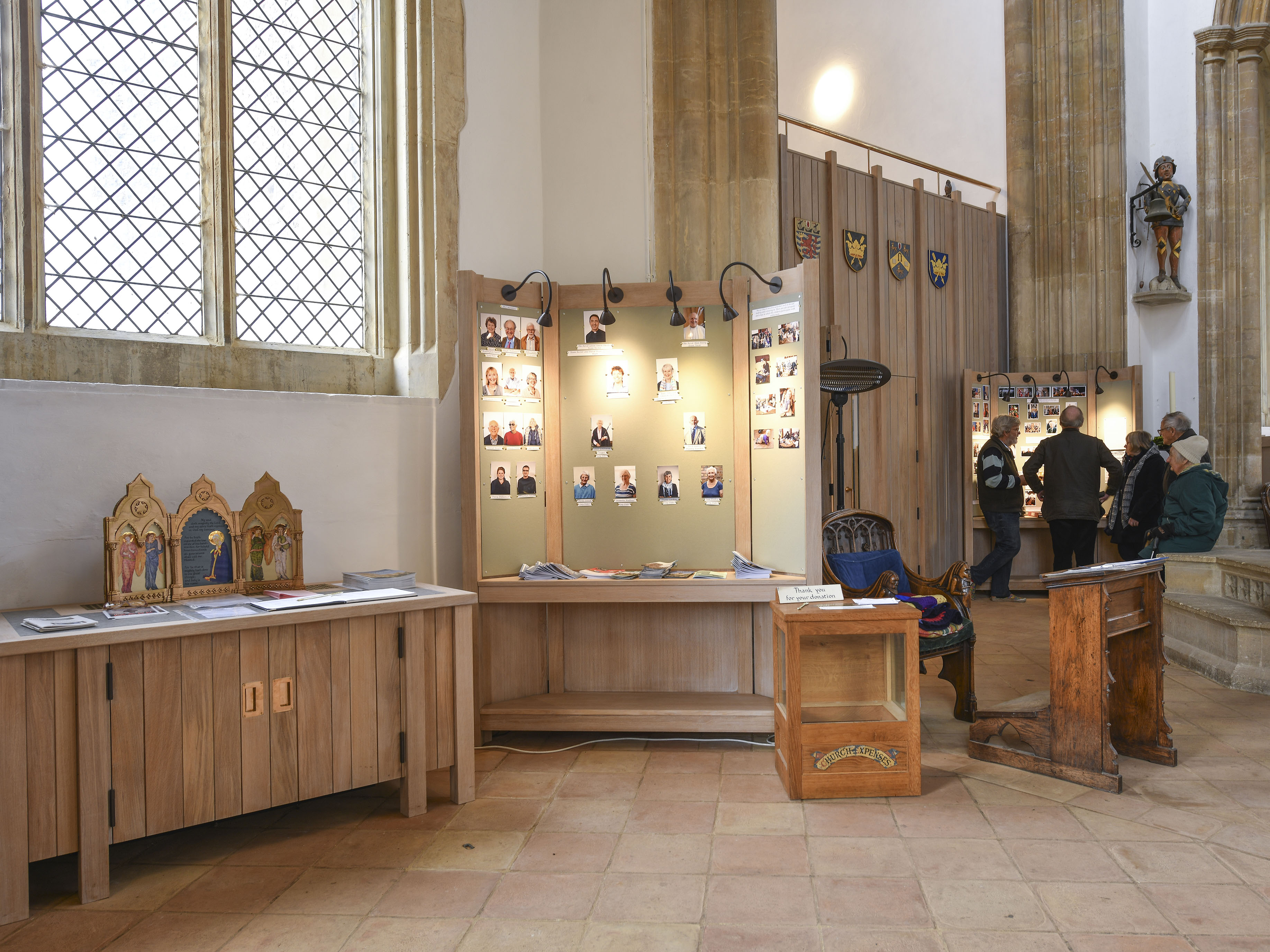 St Edmund King and Martyr, Southwold New welcome area with gallery behind