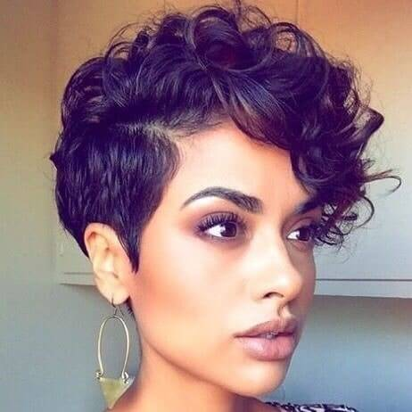 Best Bold Curly Pixie Haircut 2019- 50 Hairstyle Inspirations 9