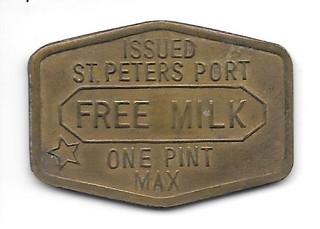 St. Peters Port Free Milk token