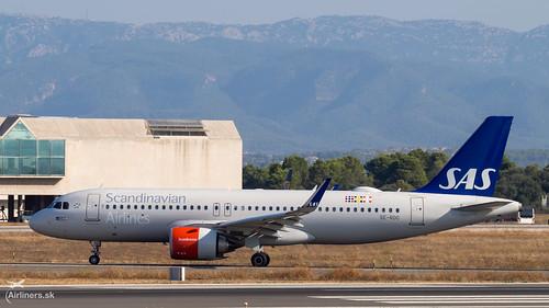 SE-ROC SAS Scandinavian Airlines Airbus A320-251N
