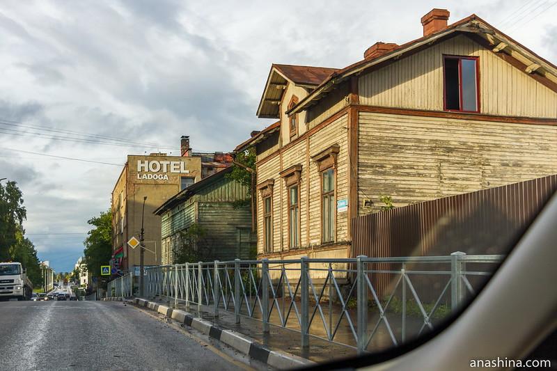 Старые дома по Карельской улице, Сортавала